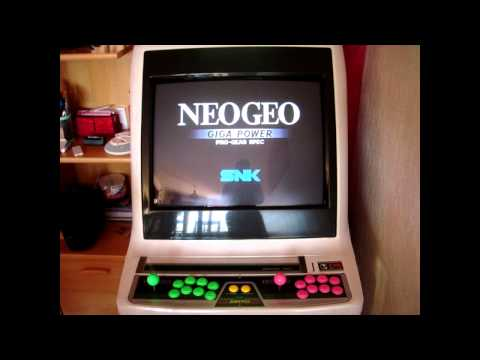 RetroMike - Test Neo Geo CD/CDZ