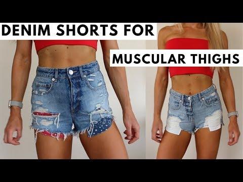 denim-shorts-for-athletic-muscular-legs-|-keltie-o'connor