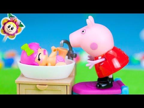 PEPPA PIG: La BB PINYPON VEUT TOUT FAIRE TOUTE SEULE ET PAR CONTRE PAULA VEUT TOUJOURS DE LAIDE!