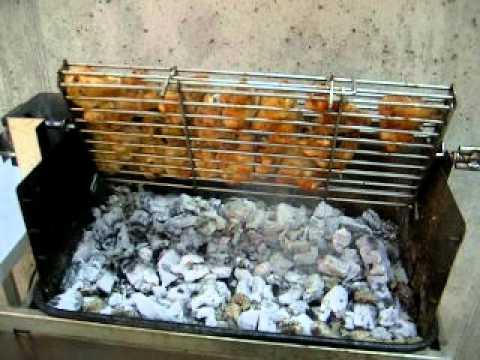 Griglia motorizzata rotante barbecue autocostruito gianda for Griglia per barbecue bricoman