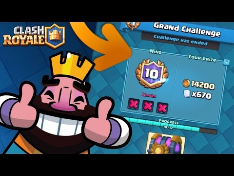 Clash Royale : NEW TOURNAMENT MODE : VICTORY CHALLENGE