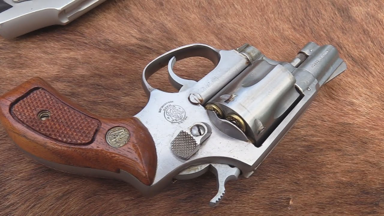 S&W Model 60  .38 Special