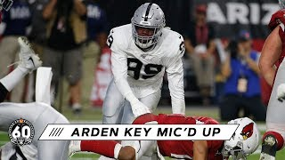 "Arden Key mic'd up in win over Arizona: ""Time to go hunt now"" 