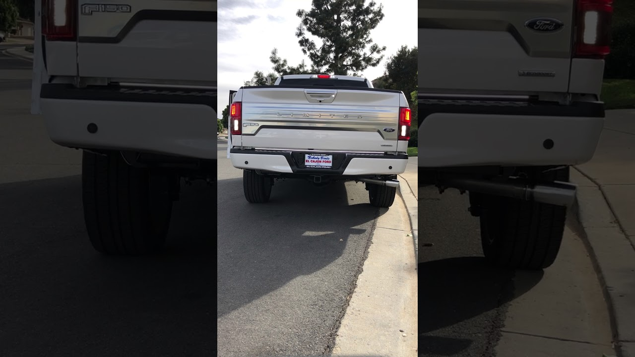 2018 F 150 Limited Putco Blade 60 Quot Led Tailgate Bar