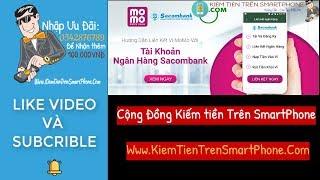 Hướng dẫn cách liên kết ngân hàng Sacombank với ví momo