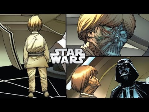 Vader Sees Young Anakin on Padmes Ship...But...(CANON) - Star Wars Theory Comics