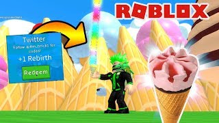 ICE CREAM DOWN MY THROAT BULGED DINNER/Roblox Ice Cream Simulator/Roblox Turkish/Game Safi