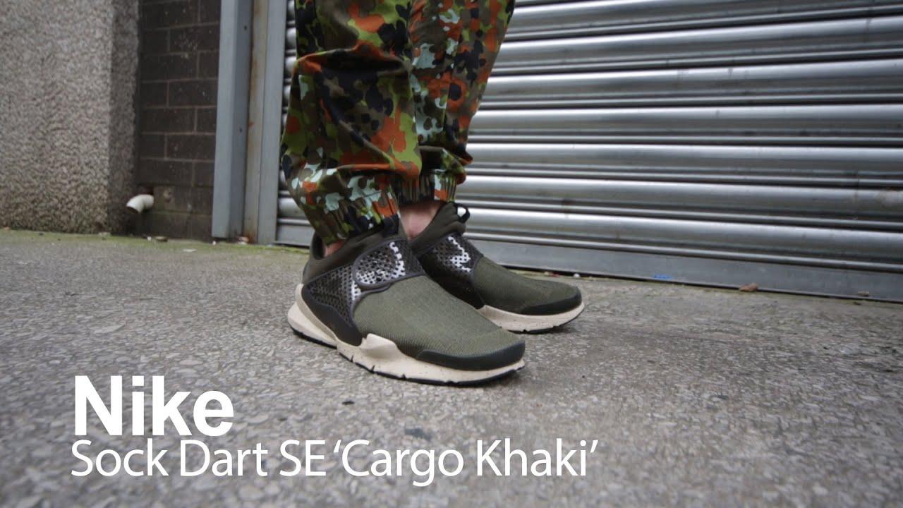 Nike Sock Dart SE 'Cargo Khaki' SLIP ON