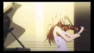 Kousei & Kaori brawl-ish performance [Edited][Ep 04 of Shigatsu wa Kimi no Uso]