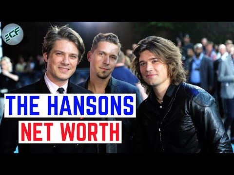 How rich are the Hansons? Isaac, Taylor and Zac net worth 2018