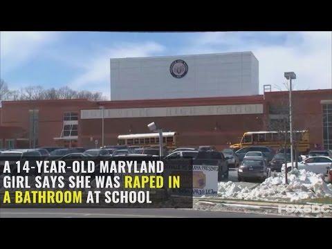 Maryland high school freshman raped in school bathroom