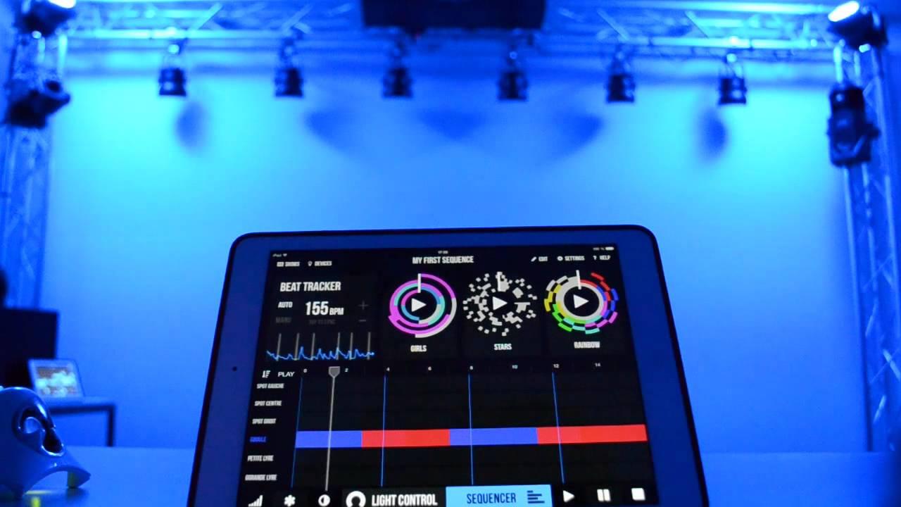 Photon : iPad Wireless DMX - Art-Net Controller