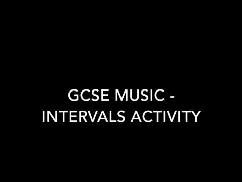 GCSE Music - Interval trainer - guess the interval activity.
