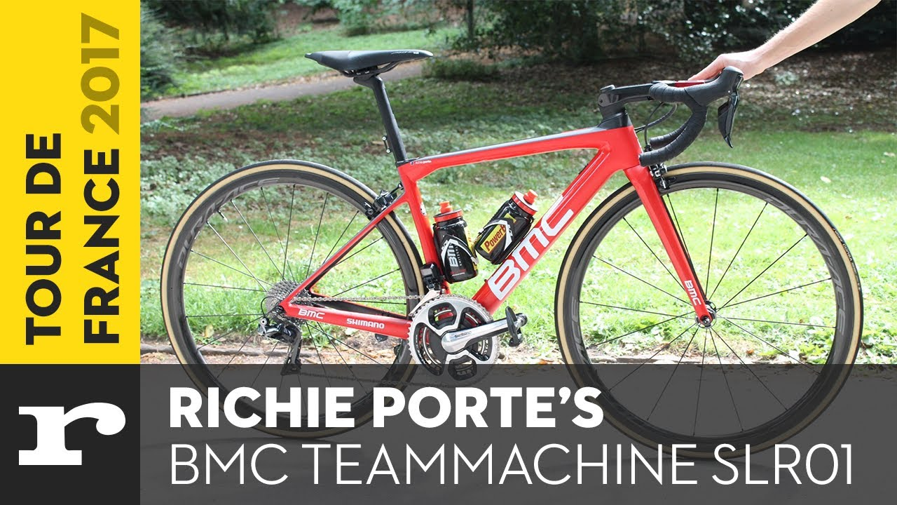 Richie porte 39 s bmc teammachine slr01 youtube for Richie porte and bmc