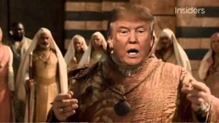 شاهد| «لعبة العروش» يسخر من دونالد ترامب