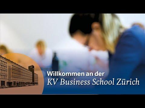 Herzlich willkommen an der KV Business School Zürich