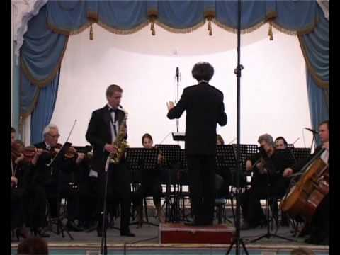 Dmitry Uvarov - Lars-Erik Larsson. Concerto for Alto Saxophone and String Orchestra, Op.14  2