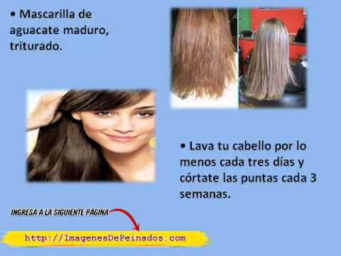 Tratamiento natural para cabello decolorado