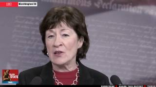 LIVE-The Daily Ticker: Sen. Susan Collins Holds News Conference on Obamacare Replacement Plan