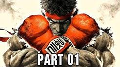 Street Fighter 5 Gameplay German Story Mode Part 1 - Ryu & Ken - Let's Play Street Fighter 5 Deutsch