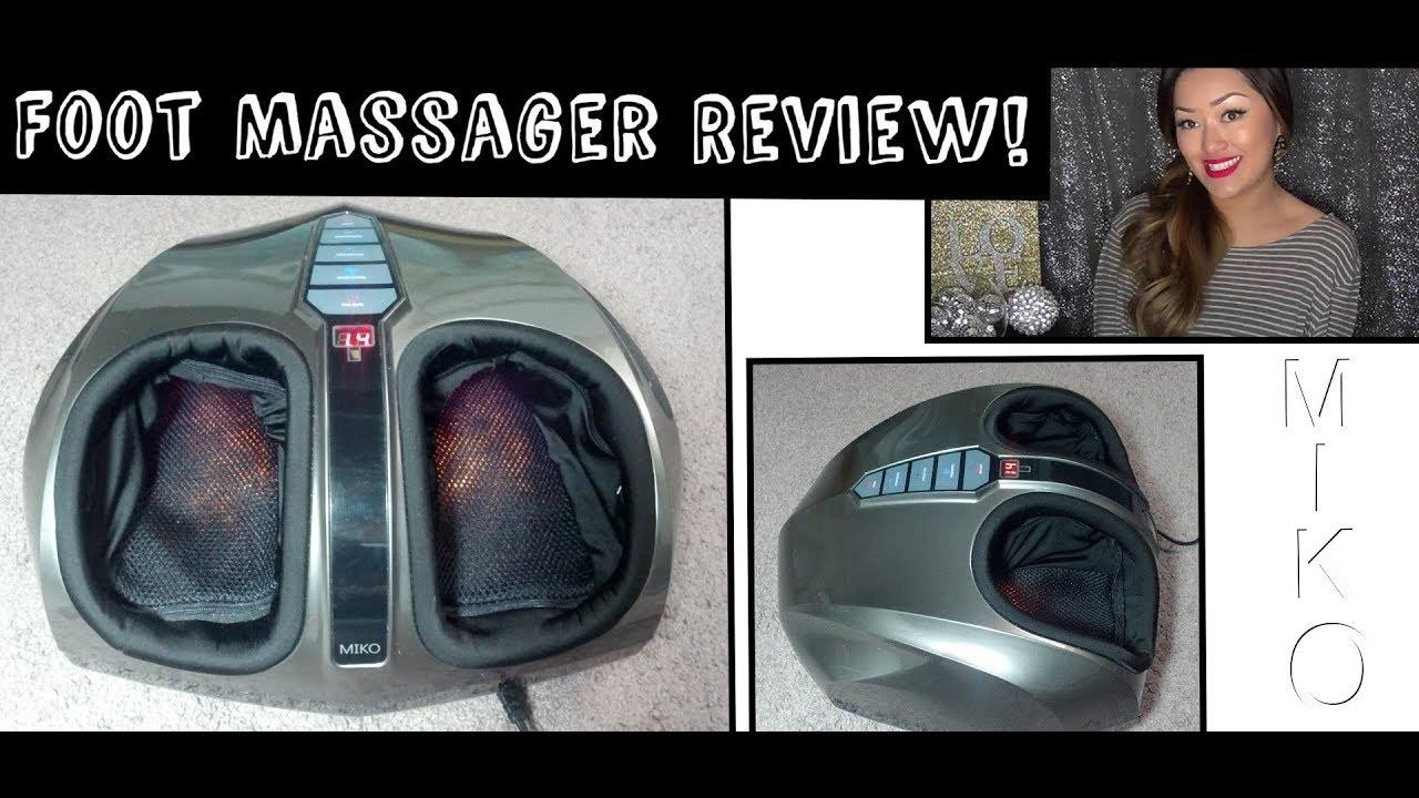 Revisión del masajeador de pies Shiatsu Miko - Youtube-2632