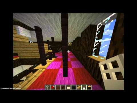 minecraft titanic Grand staircase