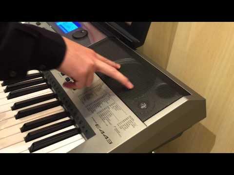 Kuljaesol : วิธีการเลือกซื้อเปียโนมือสอง Keyboard คีย์บอร์ด Yamaha ยามาฮ่า PSR E443 ฟังชั่นการใช้งาน