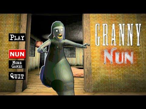 НОВАЯ Часть ГРЕННИ + МОНАХИНЯ Обновление - Granny: Evil Nun