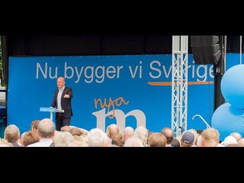 Fredrik Reinfeldts sommartal