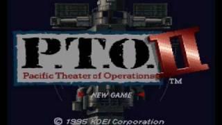 P.T.O. II: Japanese Strategy Theme