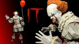 NECA: It: Ultimate Pennywise 7-inch Action Figure Review