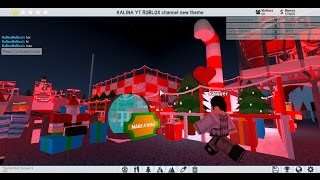 Theme park Tycoon 2 | WE WISH U A MERRY CHRISTMAS, NEW inventory | KALINA YT ROBLOX