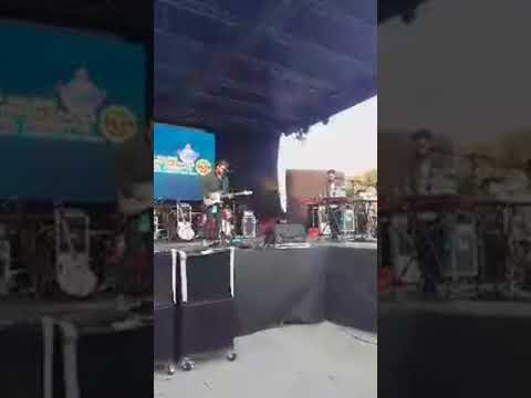 The Heron Temple @ Comicon Palermo - No Diggity ( live )