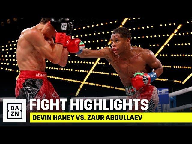 HIGHLIGHTS   Devin Haney vs. Zaur Abdullaev
