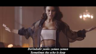 Simge  - Yankı (Echo) - English Subtitle/Turkish Lyrics Video