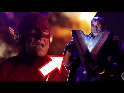 The Flash Elseworlds Sneak Peek Scene! - 90s Flash VS The Monitor!