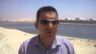 مهندس بالمقاولون العرب فى موقع العمل يهتف  تحيا مصر