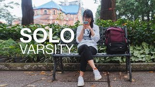 Solo Varsity - Balo du lịch có ngăn dựng laptop và giày