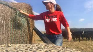 Farm Girl Friday #63 How to Load Hay using a Bale Bed