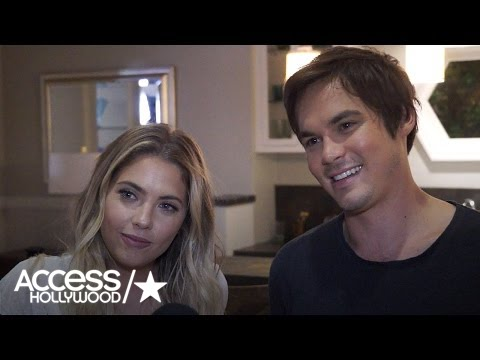 'Pretty Little Liars': Ashley Benson & Tyler Blackburn Talk #Haleb & Uber A | Access Hollywood