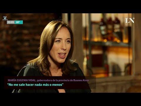 """►María Eugenia Vidal en """"Hablemos de otra cosa"""", de Pablo Sirvén - 13/04/18"""