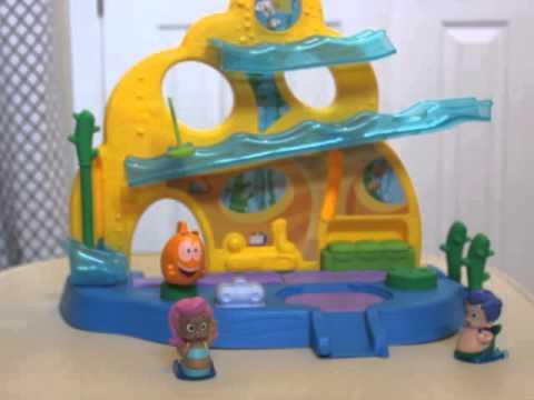 Nickelodeons Bubble Guppies Swim Sational School Fisher Price