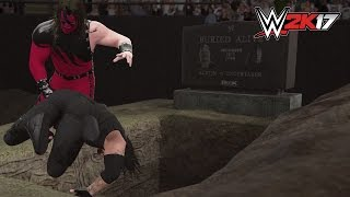 WWE 2K17 BURIED ALIVE MATCH Gameplay! (PS4/XBOX ONE) - WWE 2K17 Concept