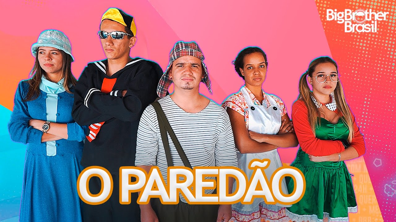 BBB21 DA TURMA DO CHAVES - O PAREDÃO ( Nathanflix )
