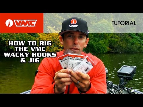 Rigging The VMC® Wacky Hooks: HOW TO FISH