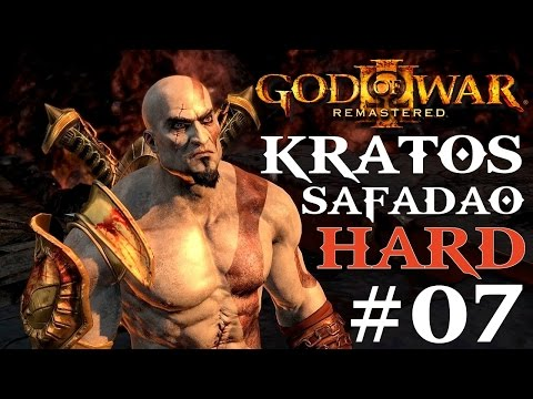 [+18]God of War 3 HARD Parte#7 KRATOS SAFADÃO PS4 (PT-BR)