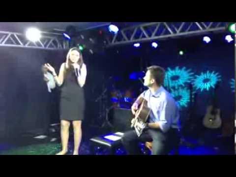 Helena Sene & Márcio Lima - Evento 3S Latin America Life Technologies - Set Fire to the Rain - Adele