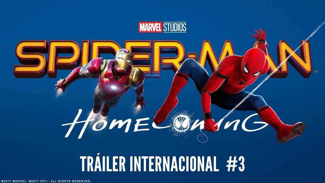 SPIDER-MAN: HOMECOMING. Tráiler Internacional #3. Ya en cines.