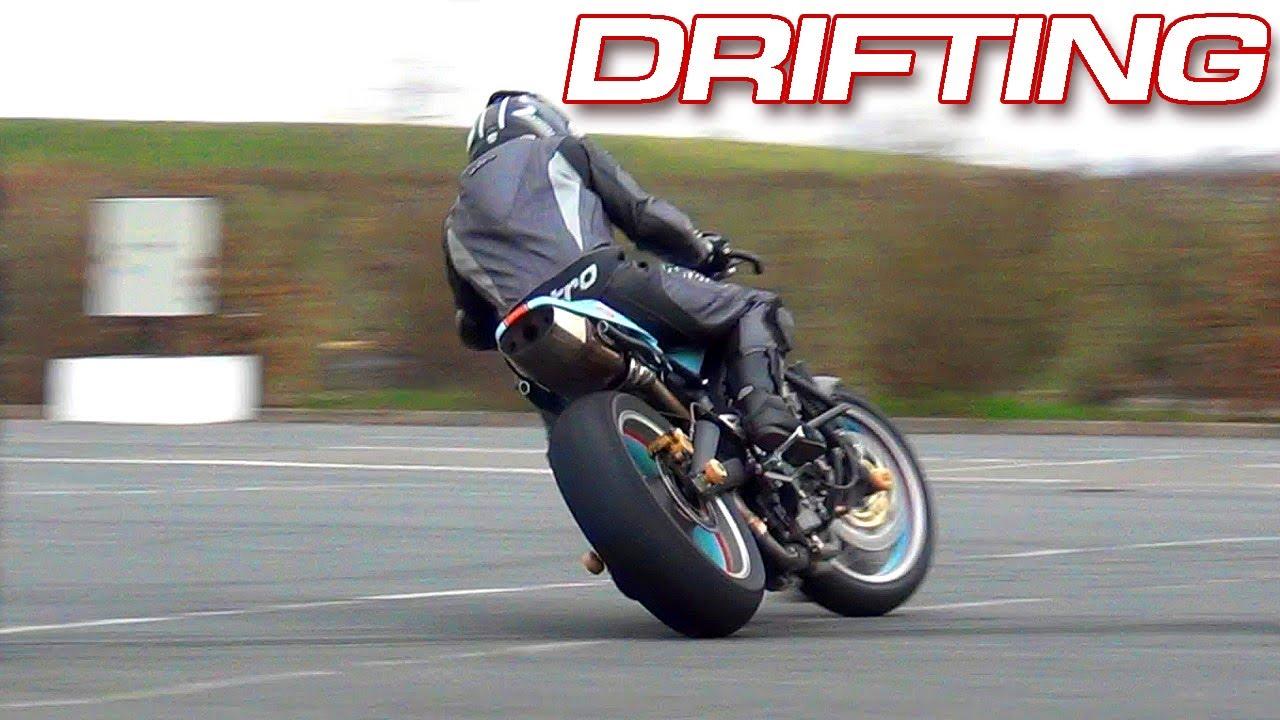 Drifting Motorbike Mekatrix Hot Pursuit Gopro Onboard