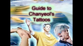 Guide to Chanyeol's Tattoos